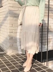 2018新款韩国服装mimididi品牌时尚休闲中裙(2018.2月)