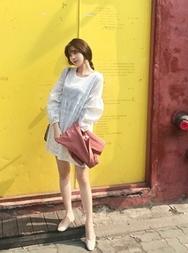 2018新款韩国服装mimididi品牌韩版时尚短款连衣裙(2018.3月)