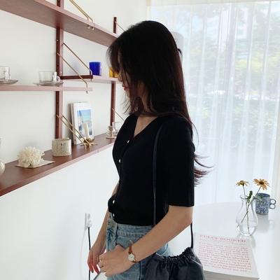 1区100%正宗韩国官网代购(韩国直发包国际运费)mimididi-开襟衫(2019-08-14上架)
