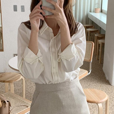 1区100%正宗韩国官网代购(韩国直发包国际运费)mimididi-衬衫(2019-10-18上架)