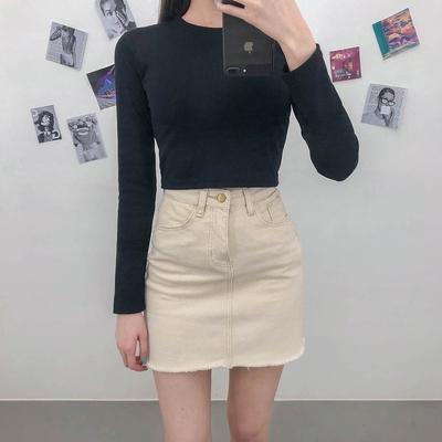 1區100%正宗韓國官網代購(韓國直發包國際運費)mixxmix-短裙(2019-06-26上架)