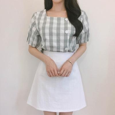 1区100%正宗韩国官网代购(韩国直发包国际运费)mixxmix-短裙(2019-06-10上架)