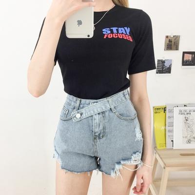 1区100%正宗韩国官网代购(韩国直发包国际运费)mixxmix-T恤(2019-06-17上架)