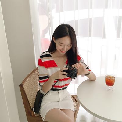 1区100%正宗韩国官网代购(韩国直发包国际运费)mixxmix-开襟衫(2019-07-19上架)