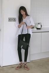 mocobling-韩国修身纯色显瘦韩国代购长裤女装2017年07月28日夏季款