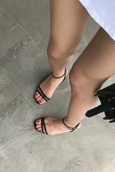 mocobling-韩国夏季纯色百搭韩国代购正品高跟鞋女装2017年07月28日夏季款