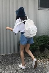 mocobling-韩国休闲纯色百搭韩国代购正品背包女装2017年07月28日夏季款