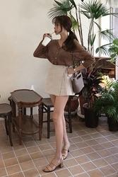 mocobling-韩国夏季系带不规则韩国正品女装代购网裙裤女装2017年07月31日夏季款