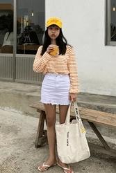 mocobling-韩国休闲字母帆布韩国代购正品手提包女装2017年07月31日夏季款