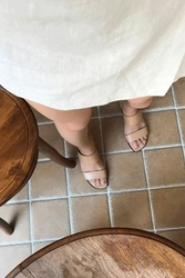 mocobling-韩国简约纯色百搭韩国代购正品高跟鞋女装2017年07月31日夏季款