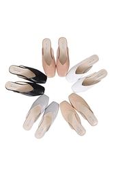 mocobling-韩国简约纯色方头平底鞋女装2017年07月31日夏季款