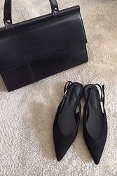 mocobling-韩国时尚尖形舒适平底鞋女装2017年08月07日08月款