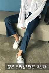 mocobling-韩国时尚宽松魅力韩国代购牛仔裤女装2017年08月07日08月款