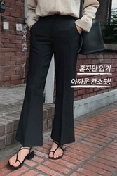 mocobling-韩国时尚流行夏季喇叭裤女装2017年08月07日08月款