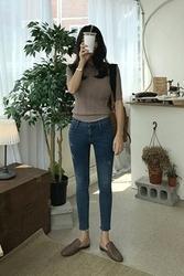 mocobling-韩国时尚修身魅力韩国代购牛仔裤女装2017年08月07日08月款