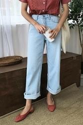 mocobling-韩国时尚舒适日常韩国代购牛仔裤女装2017年08月07日08月款
