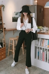 mocobling-韩国时尚魅力日常韩国代购长裤女装2017年08月07日08月款