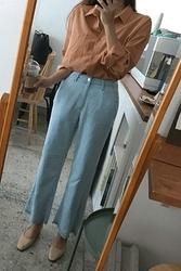 mocobling-韩国时尚宽松舒适韩国代购长裤女装2017年08月07日08月款