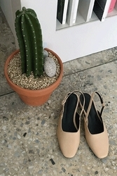 mocobling-韩国时尚舒适方形韩国代购正品高跟鞋女装2017年08月07日08月款