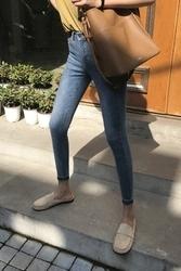 mocobling-韩国时尚日常修身韩国代购牛仔裤女装2017年08月09日08月款