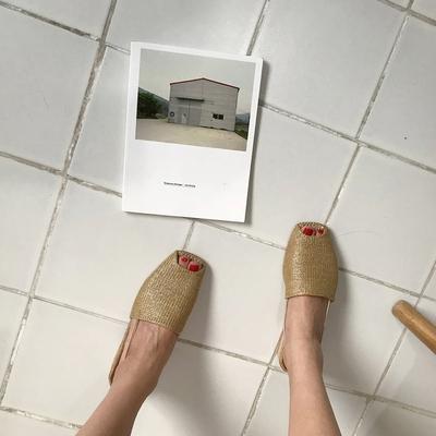 1区韩国本土服装代购(韩国圆通直发)mocobling-韩版魅力新款平底鞋(2018-04-20上架)