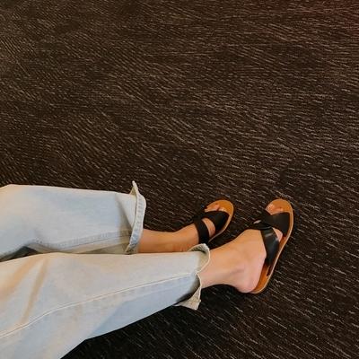 1区韩国本土服装代购(韩国圆通直发)mocobling-轻松韩版魅力凉鞋(2018-07-09上架)