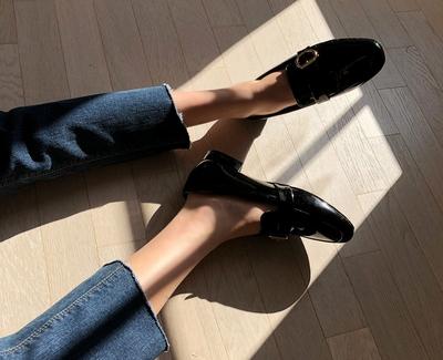 mocobling-亮片高档舒适流行平底鞋