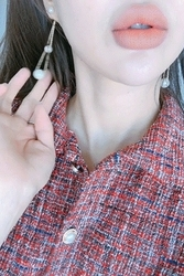 2018新款韩国服装mocobling品牌个性时尚珍珠新款耳环(2018.1月)