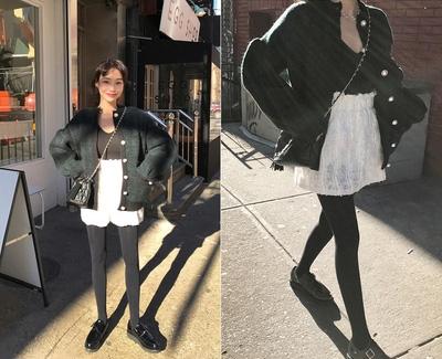 mocobling-简单魅力纯色短裙
