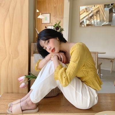 1区韩国本土服装代购(韩国圆通直发)mocobling-拖鞋(2019-04-19上架)