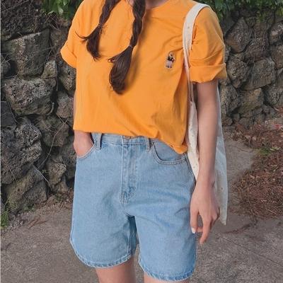 1区100%正宗韩国官网代购(韩国直发包国际运费)mocobling-T恤(2020-05-25上架)