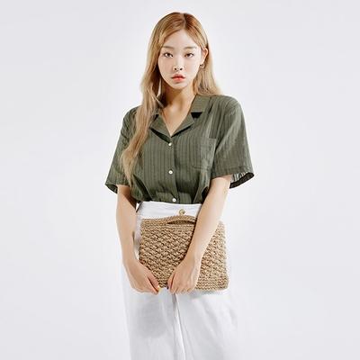 mossbean-条纹高档轻便衬衫
