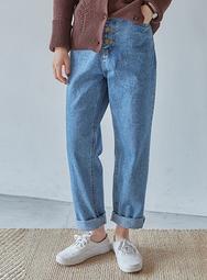 2018新款韩国服装mossbean品牌休闲舒适直筒牛仔裤(2018.1月)