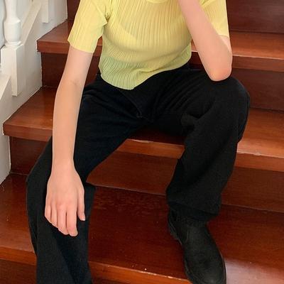 1区100%正宗韩国官网代购(韩国直发包国际运费)mossbean-T恤(2019-08-21上架)