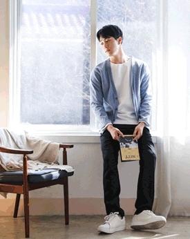 1区韩国本土服装代购(韩国圆通直发)Mutnam-简约修身韩版开襟衫(本商品是非新品,请联系客服核对再下单哦10上架)