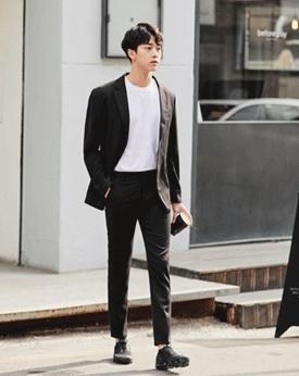 1区韩国本土服装代购(韩国圆通直发)Mutnam-新款韩版个性西装(2018-06-06上架)