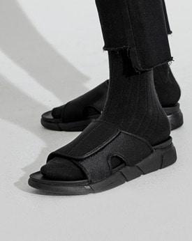 1区韩国本土服装代购(韩国圆通直发)简约复古韩版拖鞋(2018-07-16上架)