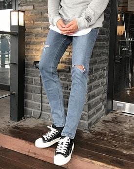 1区韩国本土服装代购(韩国圆通直发)Mutnam-牛仔裤(2018-09-07上架)