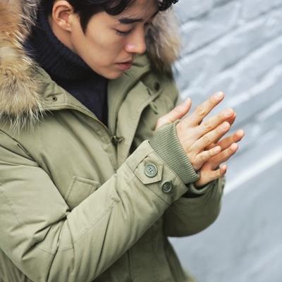 1区韩国本土服装代购(韩国圆通直发)Mutnam-羽绒服(2018-12-22上架)只有深蓝色L是可以订购