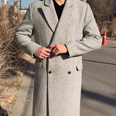 韩国休闲品牌男装韩国本土服装代购韩国圆通直发Mutnam大衣