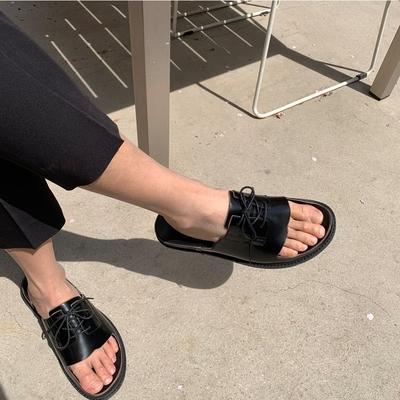 1区韩国本土服装代购(韩国圆通直发)Mutnam-拖鞋(2019-05-09上架)