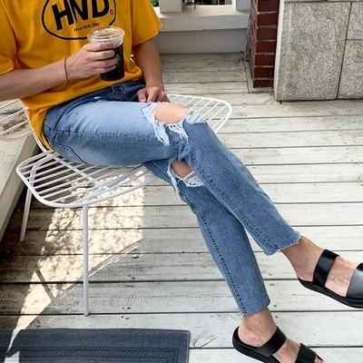 1区100%正宗韩国官网代购(韩国直发包国际运费)Mutnam-牛仔裤(2019-06-25上架)