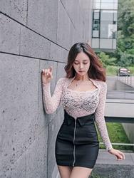 1区韩装网2016韩国服装货源|女装一件代发mybany官网韩国休闲性感时尚针织衫(2016.9)