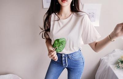 韩国本土服装代购韩国圆通mybany-韩版时尚休闲T恤(2018-03-29上架)