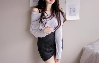 韩国本土服装代购韩国圆通mybany-韩版时尚魅力T恤(2018-03-30上架)