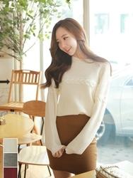 1区韩国代购正品验证fiona-FNKN00784438-淑女风魅力保暖针织衫