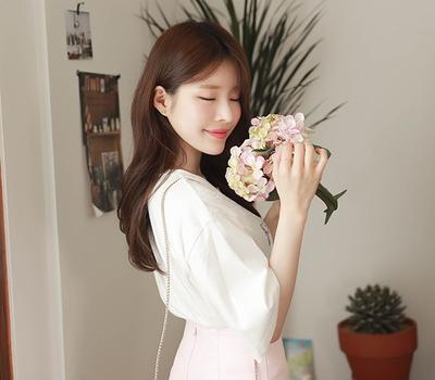 fiona-蕾丝时尚精致T恤