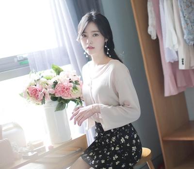 fiona-韩国柔和精致可爱韩国代购正品衬衫女装2017