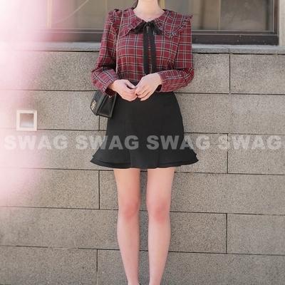 1区韩国本土服装代购(韩国圆通直发)fiona-衬衫(2018-09-19上架)
