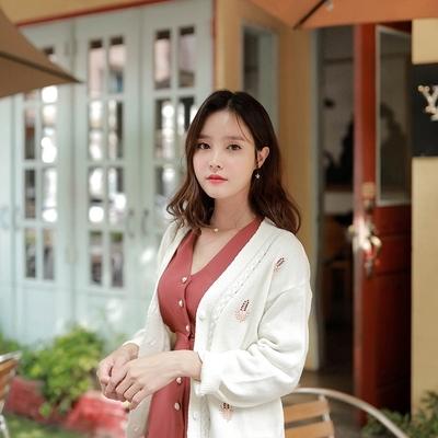 1区韩国本土服装代购(韩国圆通直发)fiona-开襟衫(2018-09-24上架)